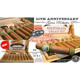 Limited Edition 20th Anniversary Nicaraguan Gran Robusto 58 x 5 Conecticut Kit includes(10 cigars cutter and lighter in humidified presentation box) + FREE SHIPPING (Regular Price 149.95)