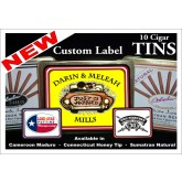 Custom Label Cigars in Tins