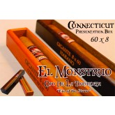 El Monstruo 60 x 8 Gigante Connecticut  single cigar Box of 1