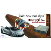 Eluminato Oro Super Premium 6 Single Boxed Cigars in Carbon Fiber Humidor