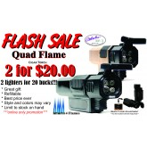 Quad Flame Jet Torch Lighter 2 for sale