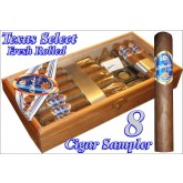 Bobalu's Texas Select Cigars Texas Select 8 Cigar Sampler 8 Cigar Sampler