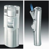 Double Flame Side Pull Cigar Lighter