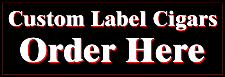 Order Personal Custom Label Cigars