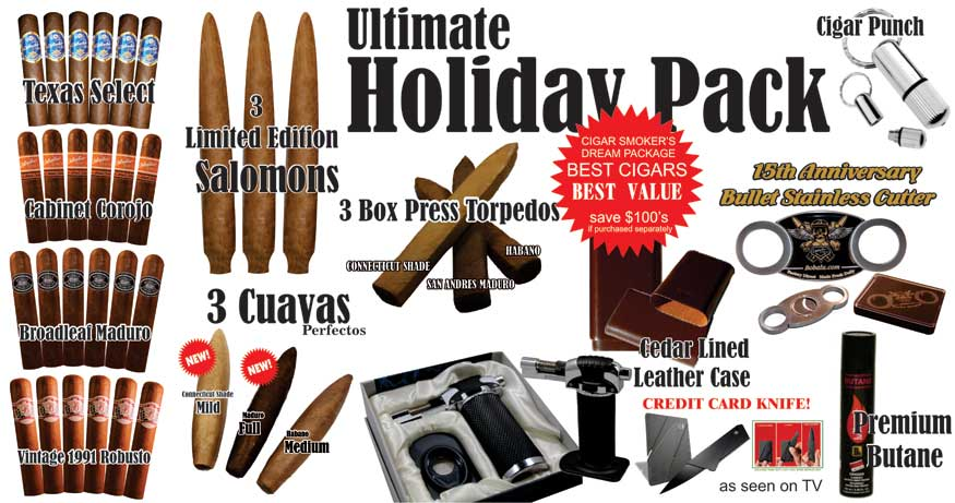 Holiday Cigar Packs