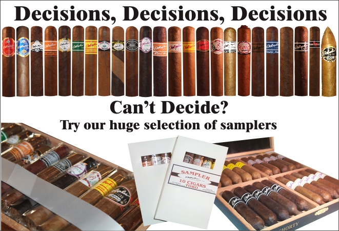 Cigar Samplers All