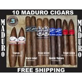 Maduro Wrappers of the World Sampler 10 cigars + FREE SHIPPING