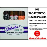 6 Robusto Limited Edition Cabinet Selection Sampler