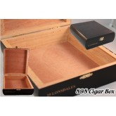 898 Cigar Box Black