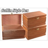Coffin Style Cigar Box