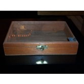 Glass Top Cigar Box