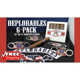 Deplorables Cigar Club Robusto Cigars 6-pack + free shipping