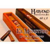 El Monstruo 60 x 8 Gigante Habano  single cigar Box of 1