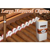 Bobalu's Premium Flavored Cigars Spiced Rum Corona 44 x 6.5 bundle of 25