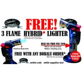 3 Flame Hybrid Table Lighter