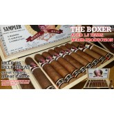 Limited Edition The Boxer Sampler 16 cigars w/Free Shipping