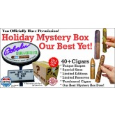 Holiday Mystery Sampler 40+ Cigars & FREE shipping