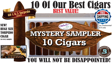 USA Cigar Mystery Sampler from Bobalu Cigar Company