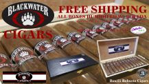 "BlackWater ""Alumni""  Robusto Cigars Box/25 + FREE SHIPPING"