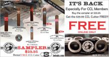 CCL 6 CIGAR SAMPLER + FREE CCL Cutter