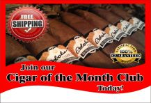 Cigar of the month Club 20cigars/month to month (recurring charge until you cancel)