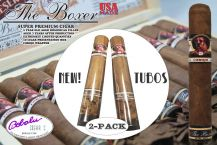 The Boxer Limited Reserve Cigars 50 x 5 Corojo Tubo 2-pack