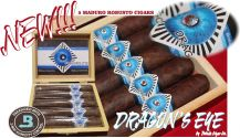 Dragon's Eye Maduro Robusto Box of 5 Cigars + free shipping