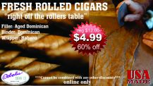 Bobalu's Fresh Rolled Torpedo Cigars - Factory Direct Cigars