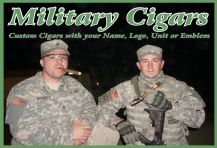 Custom Military Cigars