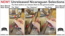 "Nicaraguan ""The Billy"" Doble Capa Gordo 38 x 7 Single Cigar"