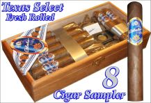 8 Texas Select Cigar Sampler