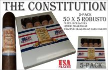 THE CONSTITUTION Robusto Pack of 5 Cigars