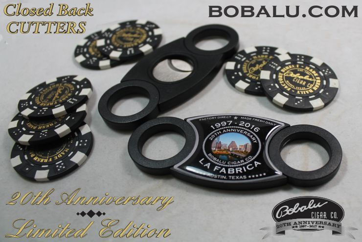 Limited Edition 20th Anniversary Close Back Cutter ABS plastic
