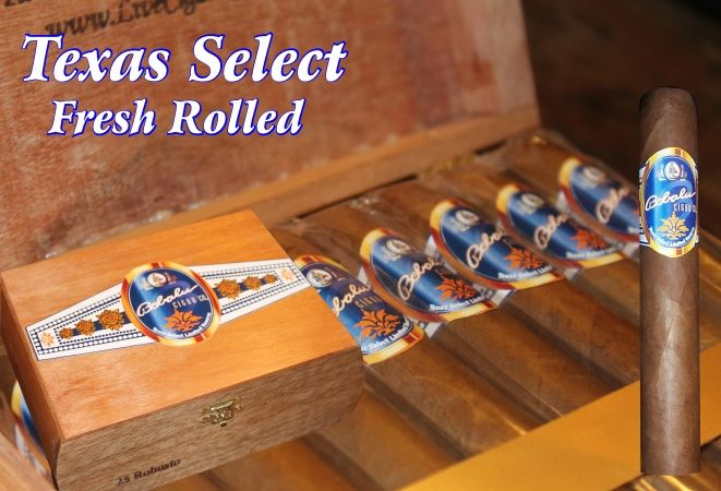 Bobalu's Texas Select Cigars - Fresh Rolled Cigars - Factory Direct Cigars