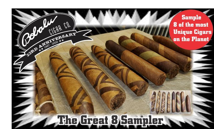 Ultimate Sampler 8 of the most unique cigars on the planet